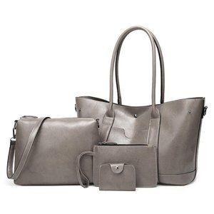Four-Piece Handbag Messenger Bag